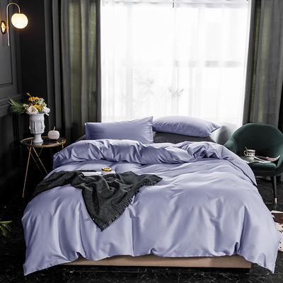 2019款纯色长绒棉 1.8m(6英尺)床 希拉紫