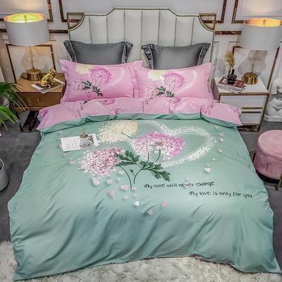 2020新款40匹马棉法式大版系列 1.5m(5英尺)床 初恋 绿