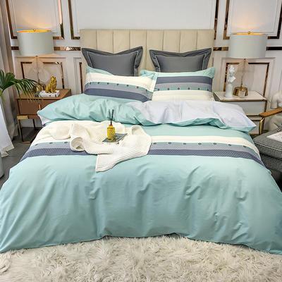 2020新款40匹马棉活力炫彩系列 1.5m(5英尺)床 阿巴丹 绿
