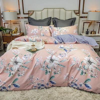 2020新款40匹马棉活力炫彩系列 1.5m(5英尺)床 法奥 粉