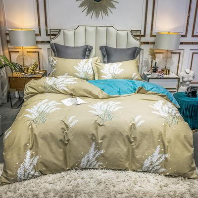 2020新款40匹马棉活力炫彩系列 1.8m(6英尺)床 温情花语 黄