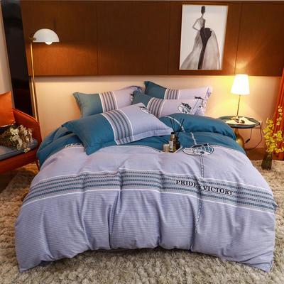 2020款全棉生态磨毛--漫调时光系列 1.8m(6英尺)床 纯真年代