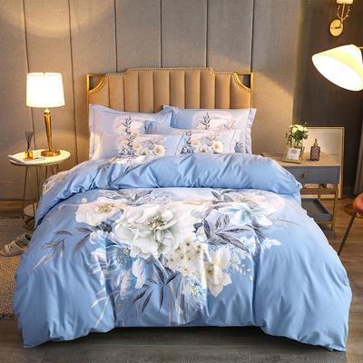 2020款全棉生态磨毛--艺术美学系列 1.5m(5英尺)床 花意浓 只剩标准