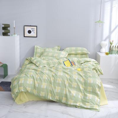 2020秋冬暖肤斜纹加厚磨毛 1.5m(5英尺)床 BM绿