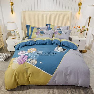 2020新款40匹马棉法式大版系列 1.8m(6英尺)床 韶华