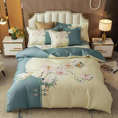 2021款40支铂金棉大版系列 1.8m(6英尺)床 畅春