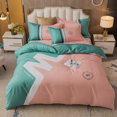 2021款40支铂金棉大版系列 1.8m(6英尺)床 潮流 粉