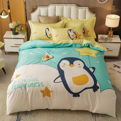 2021款40支铂金棉大版系列 1.8m(6英尺)床 快乐企鹅