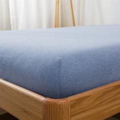单品针织棉天竺棉床笠 单品床笠1.2*2.0米 米兰中条