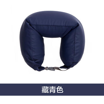 无印良品风U型枕护颈枕进口泡沫粒子(16.5*67)