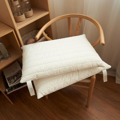 2018新款-聚氨酯泡沫低反弹绗缝枕 1(43cm*63cm)