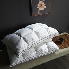 2018新款-羽绒枕 面包枕(48*74cm)