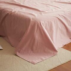 2017 新款简约纯色绣花单品床单 床单200*230cm 艾琳-床单