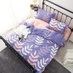 棉加绒四件套 标准(1.5m-1.8m床) 佳人有约