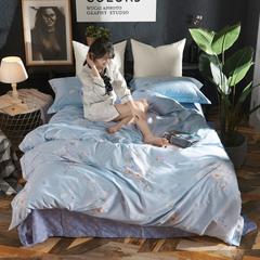 2018新款-雅塞尔天丝系列套件(雅塞尔天丝) 1.5m(5英尺)床 豆蔻花时