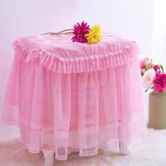 开心系列 2018新款开心床头柜罩 40*50cm 粉色
