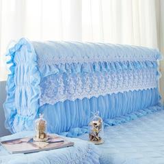 浪漫满屋系列 2018新款浪漫满屋床头罩 2.0米 天蓝色