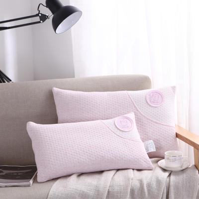 幼儿园儿童枕头 全棉针织小猫彩棉枕 婴童枕芯