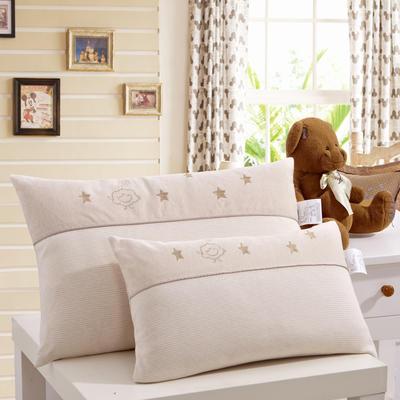 儿童枕头 全棉针织星空彩棉枕 幼儿园婴童枕芯