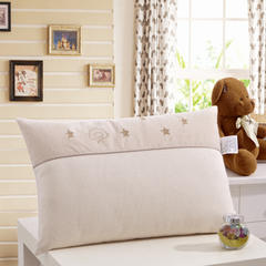御棉坊 儿童枕头 全棉针织星空彩棉枕 30X50CM星空彩棉枕