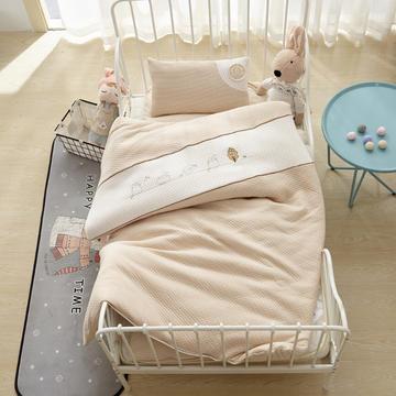 针织彩棉婴童套件幼儿园被子三件套/六件套