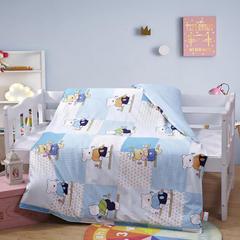 全棉13372 AB版系列幼童可拆洗被子(被套+被芯 第一批) 单独被套+丝绵被芯 数字熊