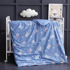 全棉13372 AB版系列幼童可拆洗被子(被套+被芯 第二批) 单独被套+棉花被芯(3斤) 棒棒熊