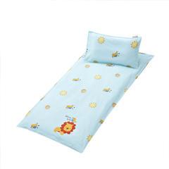 幼童床褥(垫套+丝绵垫芯) 60X120cm/垫芯1.2斤 丛林狮子