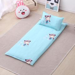 幼童床褥(垫套+丝绵垫芯) 60X120cm/垫芯1.2斤 糖果女孩B版