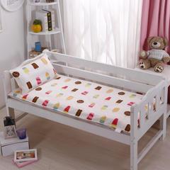 幼童床褥(垫套+棉花垫芯) 60X150cm/垫芯1.5斤 好多冰激凌