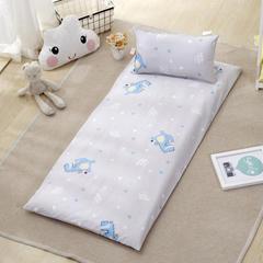 幼童床褥(垫套+棉花垫芯) 棉花垫加厚/一斤 涂鸦恐龙B版