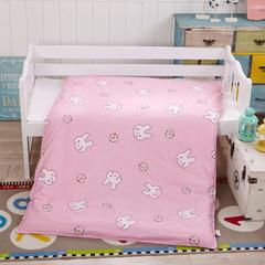 全棉13372幼童独版花系列可拆卸被子(被套+被芯) 被套+2斤棉花被芯 萌萌兔