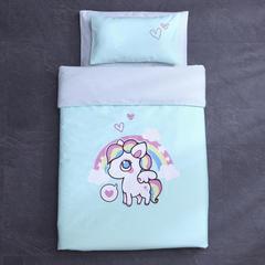 御棉坊全棉13372数码台板印花系列幼儿园套件 专用包装2 精灵马