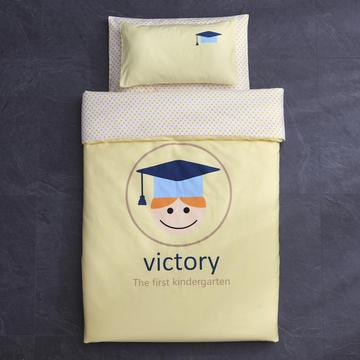 全棉台板印花儿童套件幼儿园三件套幼儿园被子婴童三/六件套