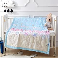 御棉坊 全棉儿童夏被 纯棉夏凉被 空调被幼儿园被 110*150cm 龙猫