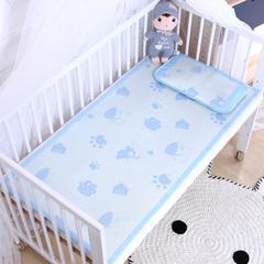 御棉坊    儿童凉席两件套 婴儿冰丝凉席幼儿园席子 80X150cm两件套 小狗丫丫