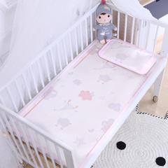 御棉坊    儿童凉席两件套 婴儿冰丝凉席幼儿园席子 60X135cm两件套 小狐狸