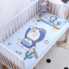 御棉坊    卡通大版儿童凉席两件套婴儿冰丝凉席幼儿园席子 60X135cm两件套 小叮当