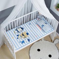 御棉坊    卡通大版儿童凉席两件套婴儿冰丝凉席幼儿园席子 25X45cm单枕头 小纵队