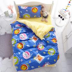 2018新款-(两用派)全棉+水晶绒幼儿园儿童套件 专用包装 动物王国
