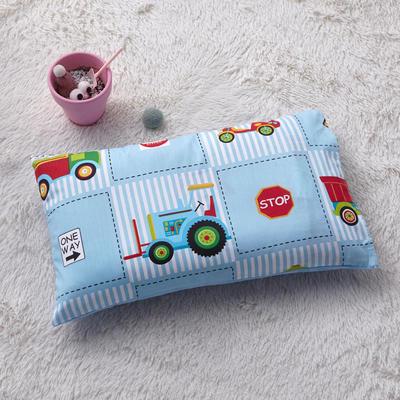 2018新款-(两用派)全棉+水晶绒幼儿园儿童单品枕套 48cmx74cm 好多汽车