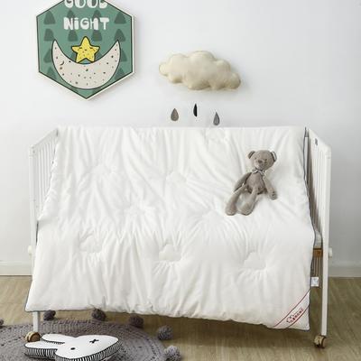 A类全棉幼儿园被子120X150儿童被芯宝宝小被子羽丝绒棉花被 120*150cm(2.5斤)羽丝绒 A类全棉内胆