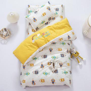 可定制绣花学生幼儿园套件幼儿园被子三件套儿童午睡棉被褥六件套