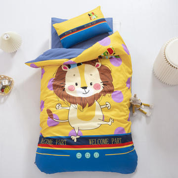 A类全棉数码印花幼儿园儿童套件幼儿园被子三件套宝宝午睡六件套