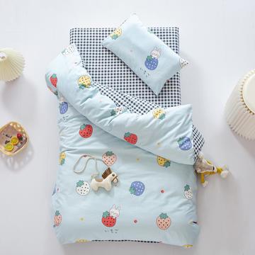 2020新款全棉幼儿园套件儿童被子三件套宝宝午睡棉被褥含芯六件套