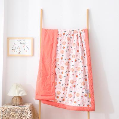 2021新款A类全棉水洗棉儿童夏被 幼儿园被子夏凉被空调被 150x200cm 小南瓜