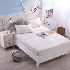 纯色单床笠 枕套 48*74 cm 白色