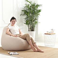豆袋懒人沙发 中号(80*90 ) 象牙白