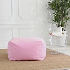 软方懒人沙发 长55*宽55*高38 (光套子) 粉色