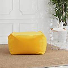 软方懒人沙发 长55*宽55*高38 (光套子) 金黄